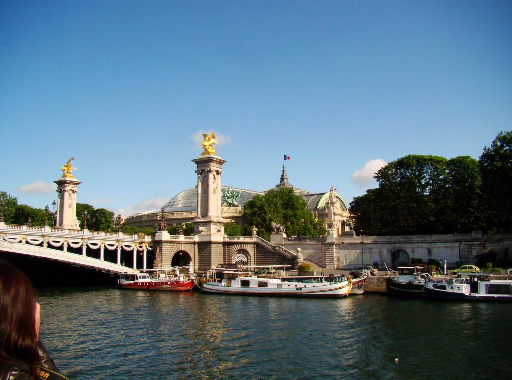 Photos de la Croisière ''Sous les Ponts de Paris''.