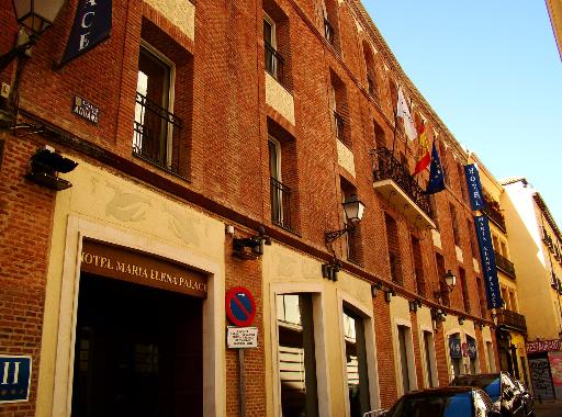 Photos de notre hôtel lors de notre Escapade à Madrid.