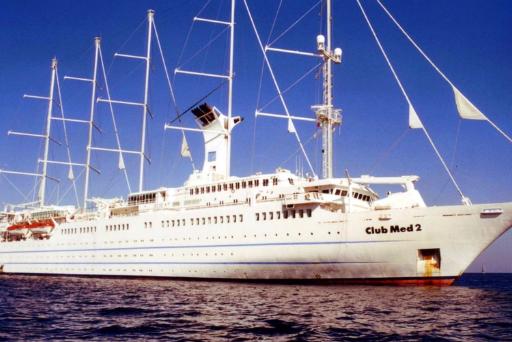 """Photos de la croisière """"Méditerranée"""" sur le Club Med 2"""