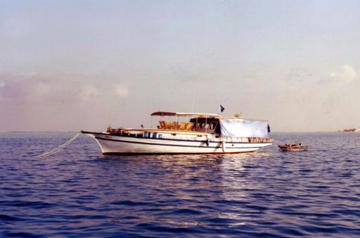 """Photos de la croisière """"Davidoo"""" aux Maldives."""
