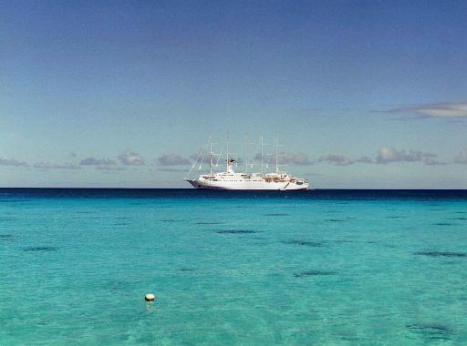 """Photos de notre croisière """"Magie Polynésienne"""" sur le Club Med 2."""
